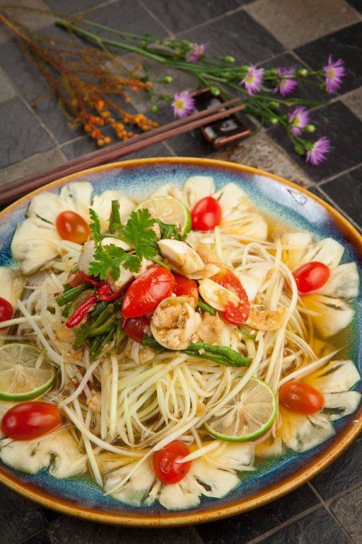 Bông Súng chuyên phục vụ các món chay mang đậm bản sắc