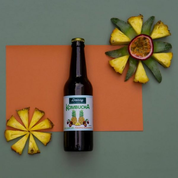 Daissy Kombucha Pineapple Passtionfruit