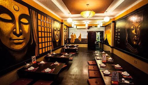 Không gian thanh tịnh bên trong Buddha Chay